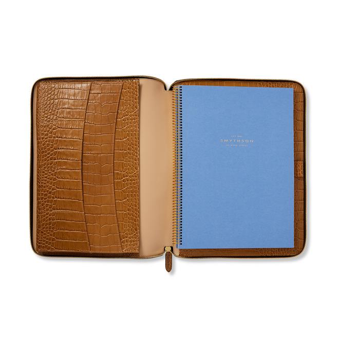 Mara A4 Zip Writing Folder