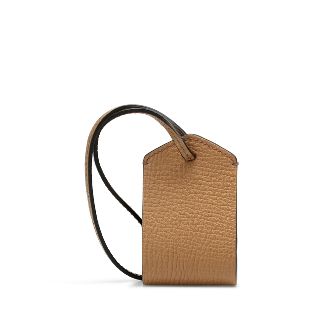 Personalisation Tag in Large Grain Leather