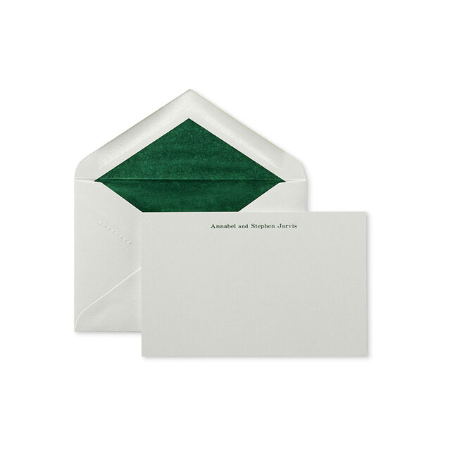 Kings Correspondence Card with Name