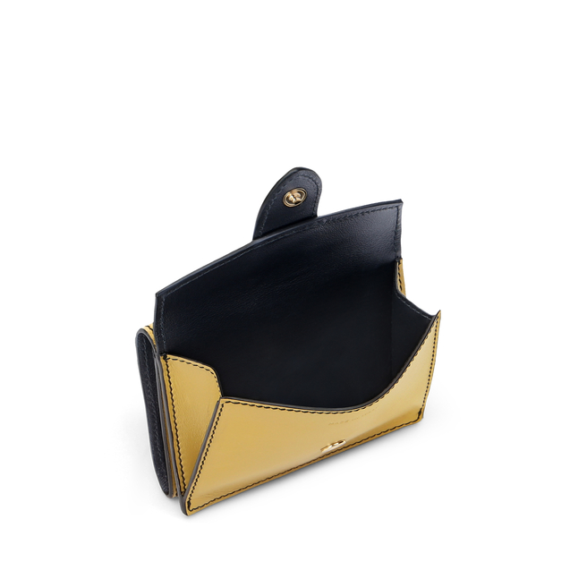 Mini Trifold Purse in Smooth Leather