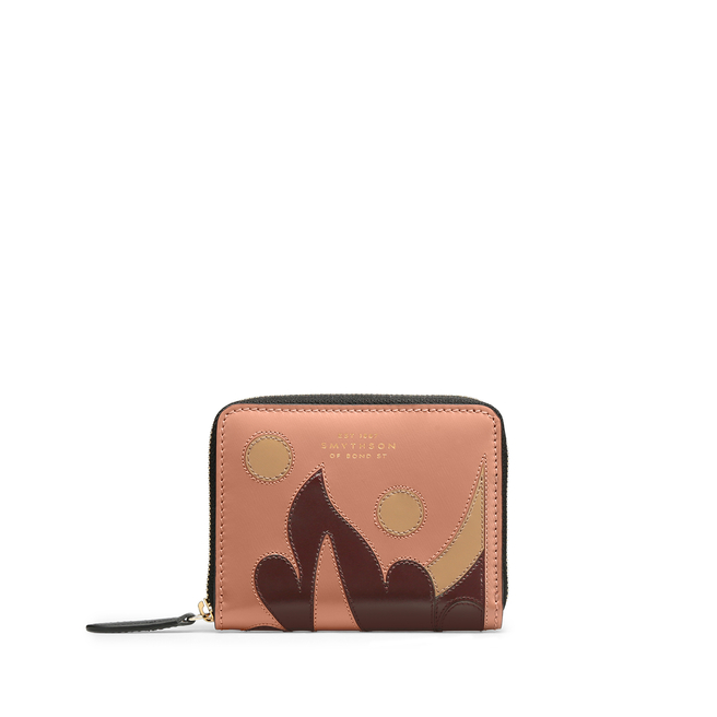 Intarsia Madison Small Zip Around Purse