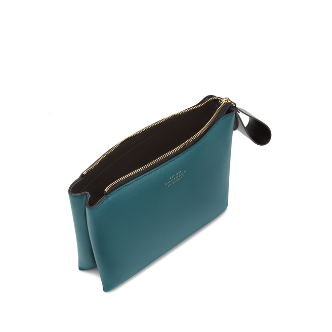 Small Pillow Pouch in Smooth Leather
