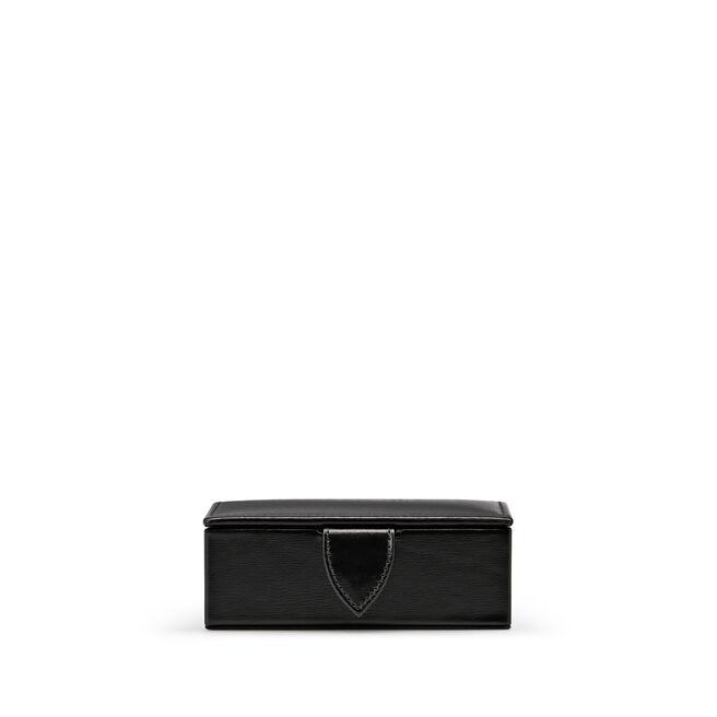 Mini Cufflink Box in Box Calf Leather