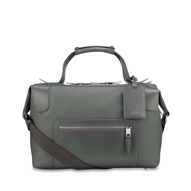 Greenwich Medium Holdall Granite