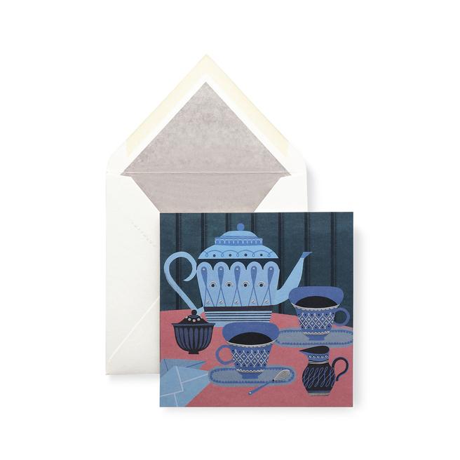 Tea Set Card