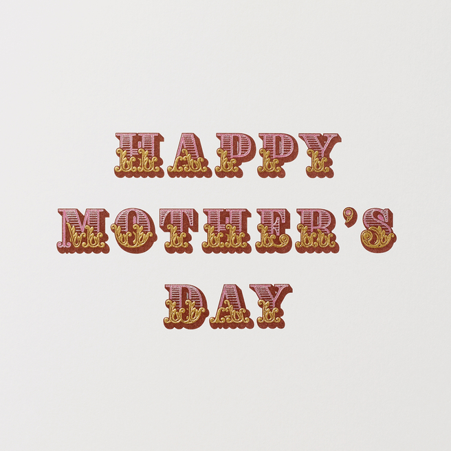 Circus Mother'S Day Card