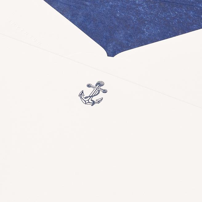 Anchor Correspondence Cards White