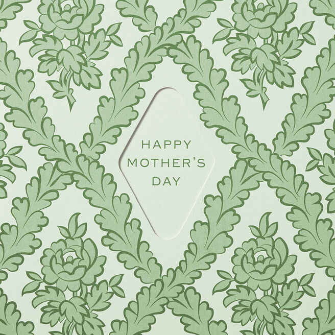 Ornate Mother'S Day Card