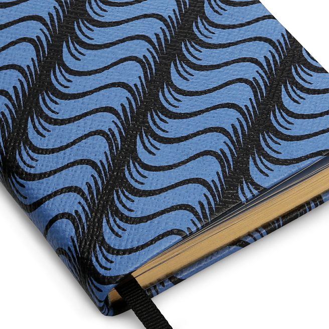 'S' Monogram Panama Notebook