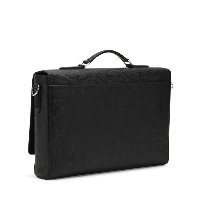 Bond Lock Briefcase with Large Grain