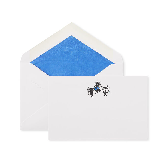 Cool Cats Correspondence Cards