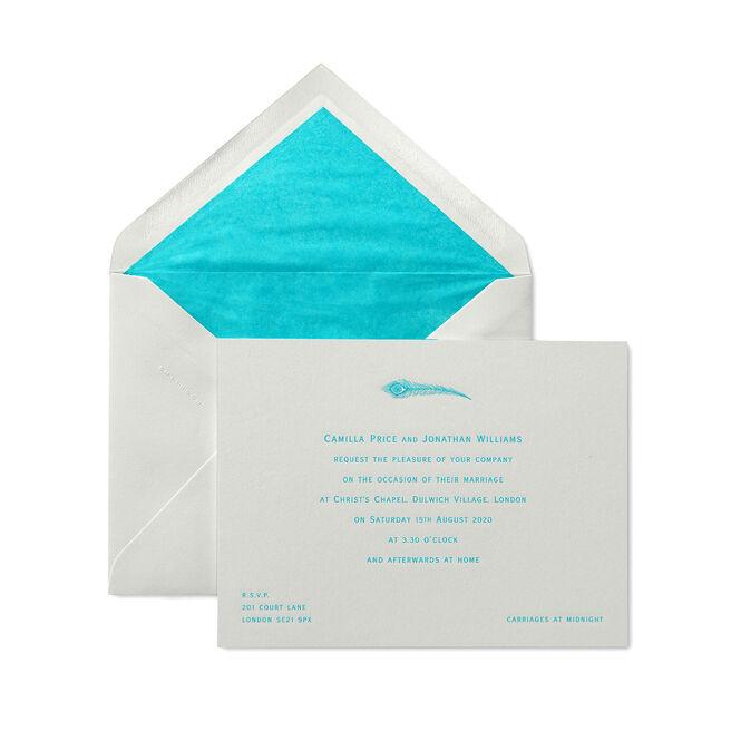 Landscape Wedding Invitation