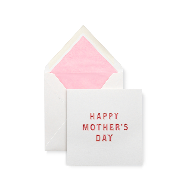 Typography Mother's Day Card