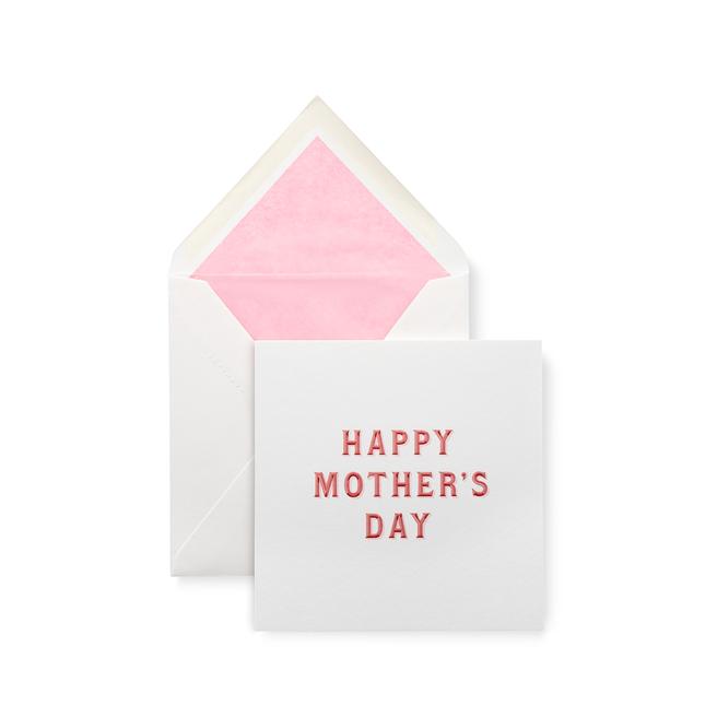 Typography 母の日カード