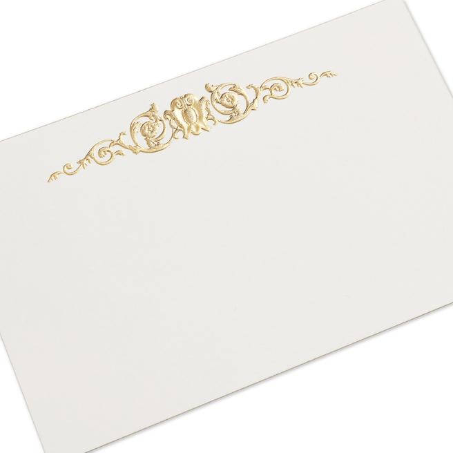 Stucco Baroque Correspondence Cards