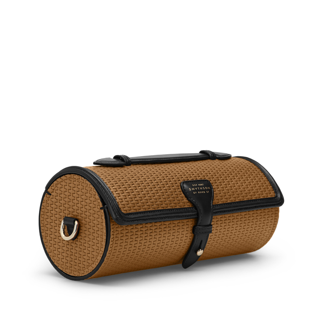 Basketweave Bike Bag