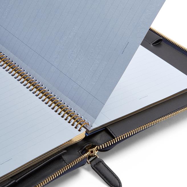 Panama A5 Zip Writing Folder