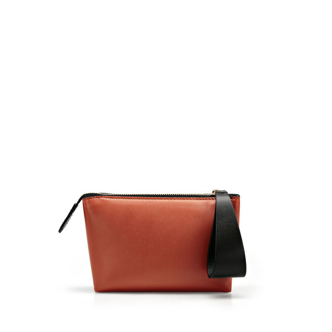 Mini Pillow Pouch in Smooth Leather