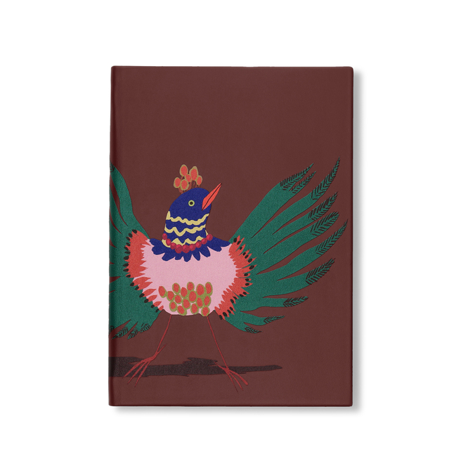 Bird Print Soho Notebook
