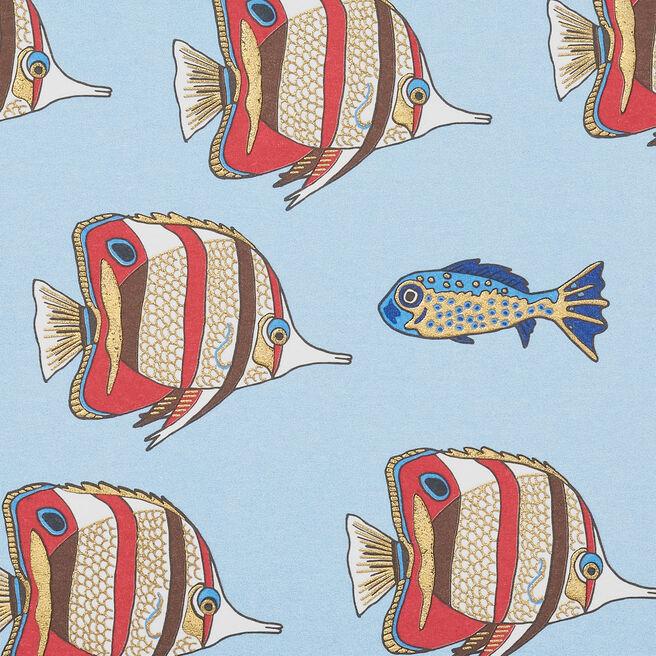 Fish Correspondence Cards White