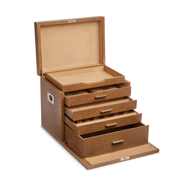 Mara Deluxe Jewellery Box