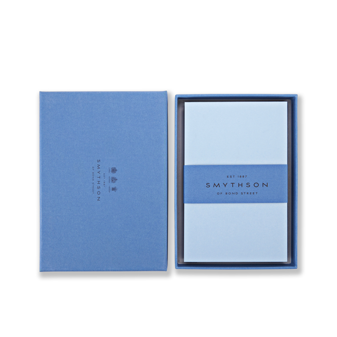 Bond Street Blue Kings Correspondence Cards