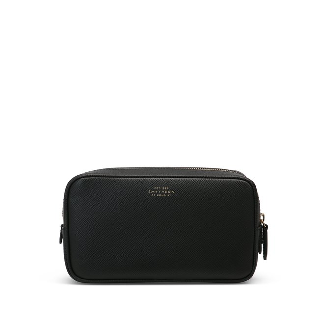 Panama Double Zip Washbag
