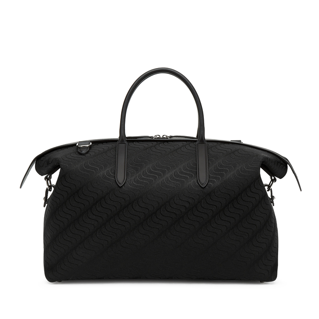'S' Monogram Zip Guard Holdall