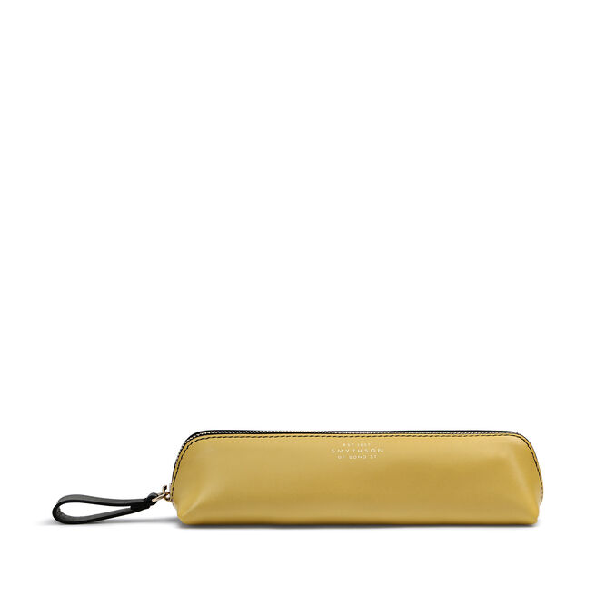 Pencil Case in Smooth Leather