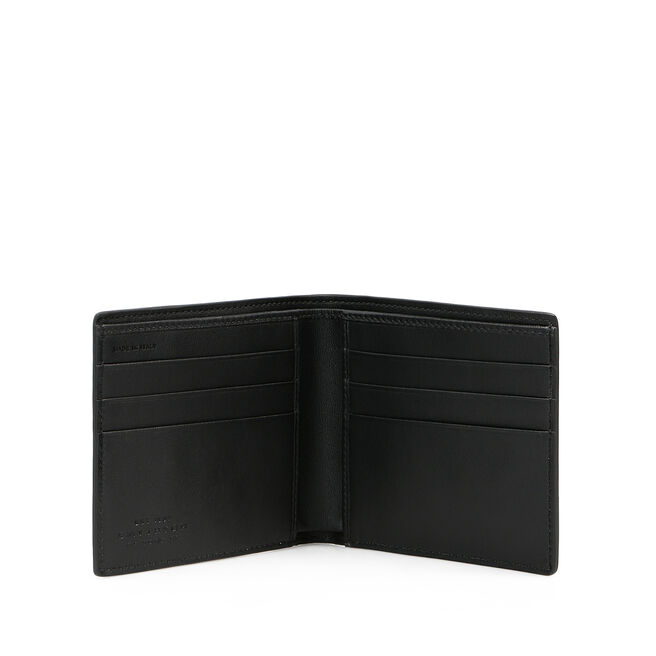 6 Card Wallet in Box Calf Leather
