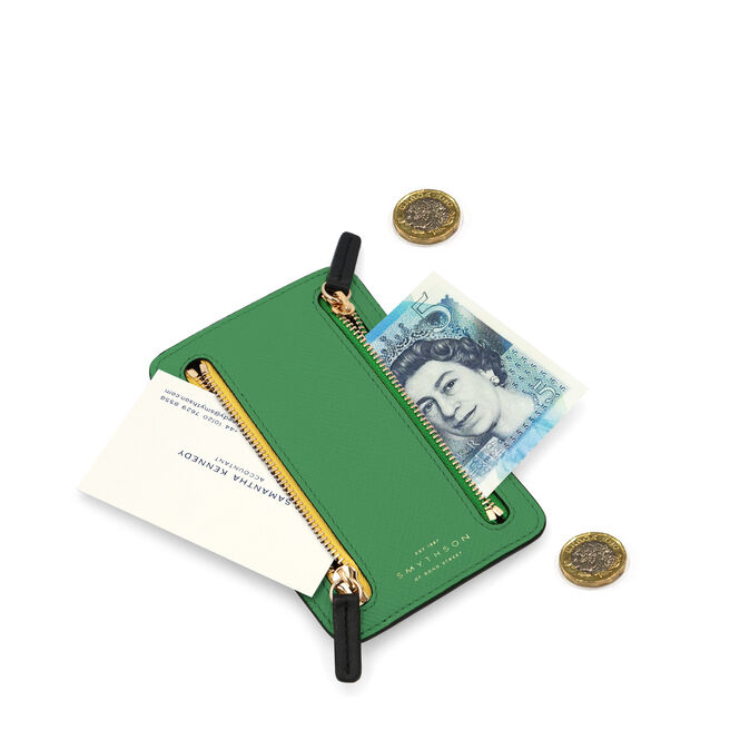 Panama Mini Zip Currency Case