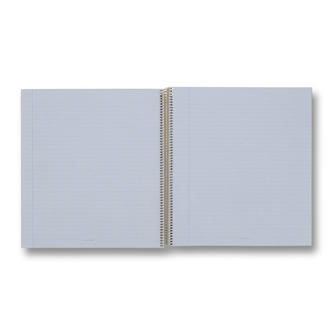 A4 Gold Spiral Bound Refill Pad