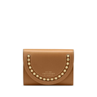 Saddle Studs Small Moon Compact Purse