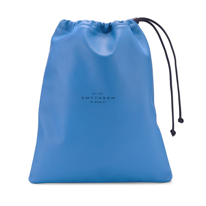 Kingly Large String Pouch Nile Blue