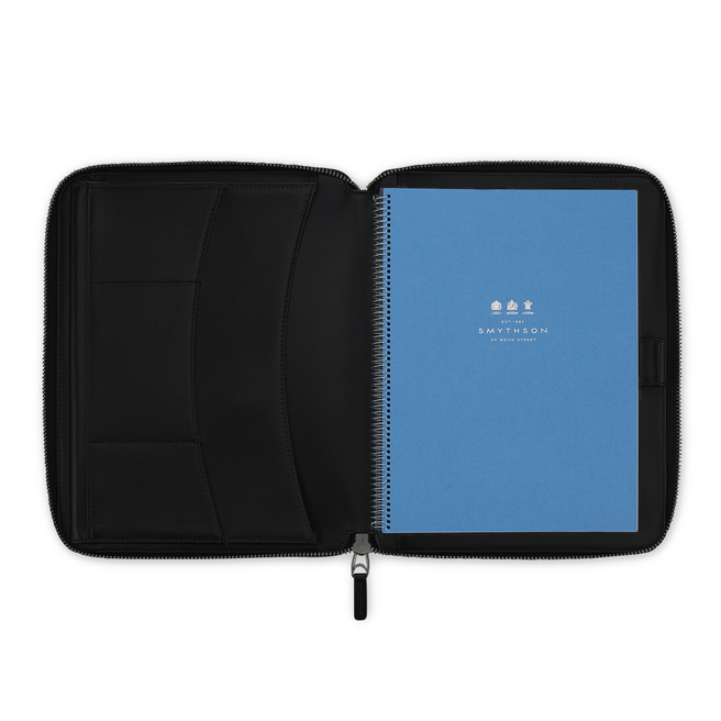 Burlington A5 Zip Writing Folder