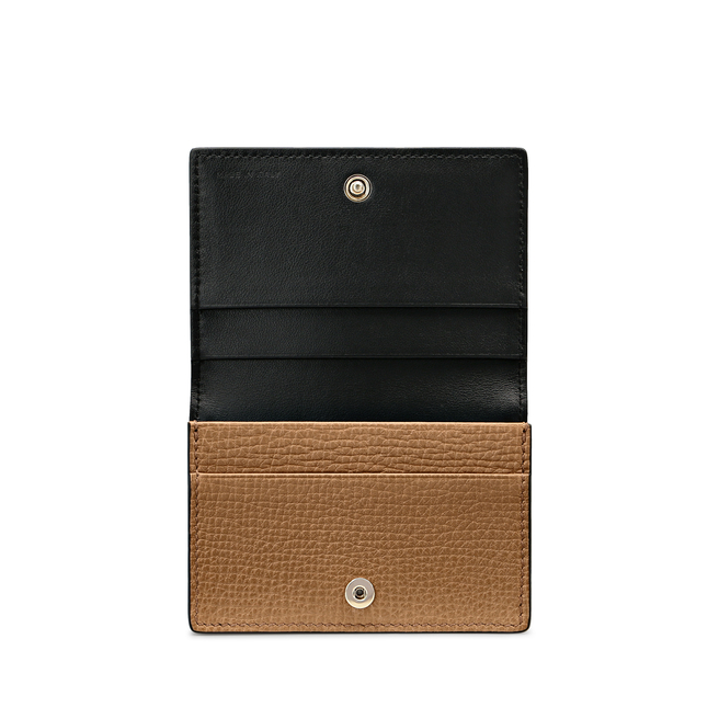 Business and Credit Card Case in Large Grain Leather