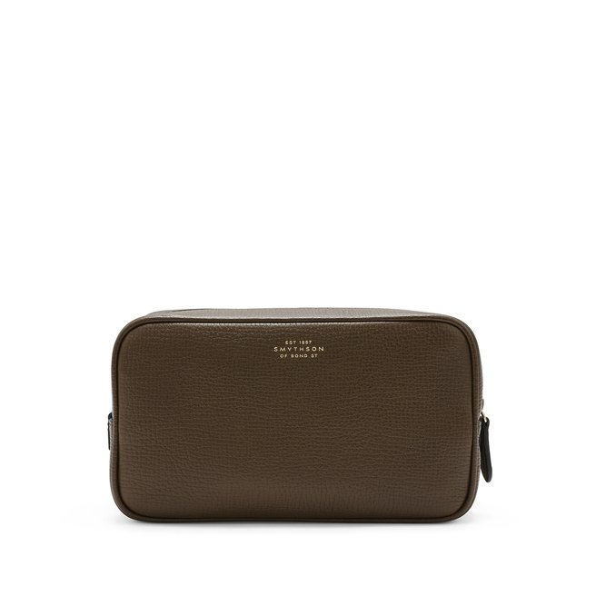 Ludlow Double Zip Washbag