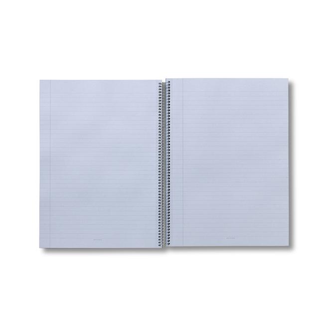 A4 Silver Spiral Bound Refill Pad