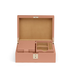Intarsia Madison Jewellery Box with Travel Tray
