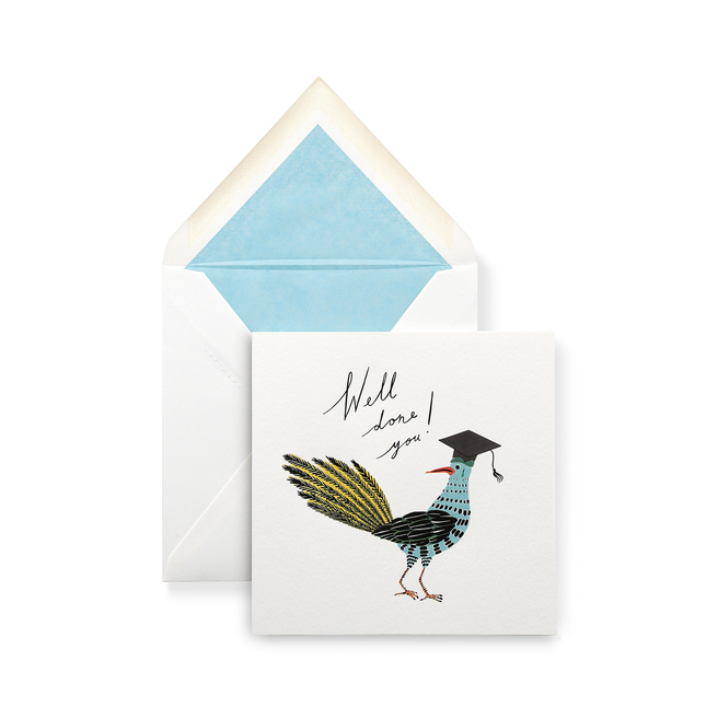 Bird Graduation Card