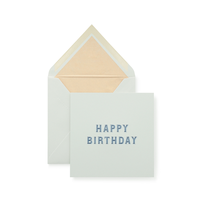 Typography Birthday Card