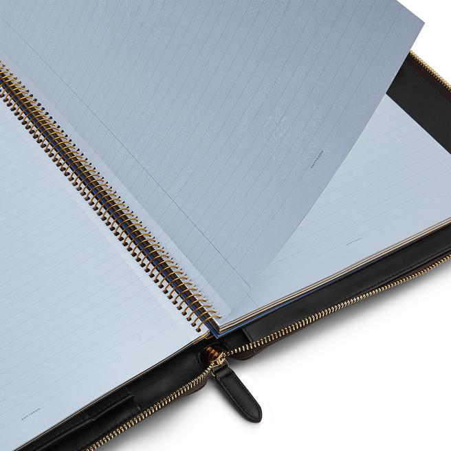 Ludlow A4 Zip Writing Folder
