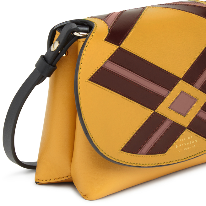 Intarsia Madison Mini Pillow Crossbody Bag