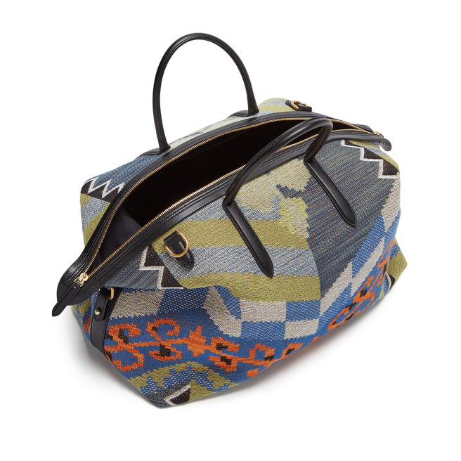 Kilim Zip Guard Travel Bag