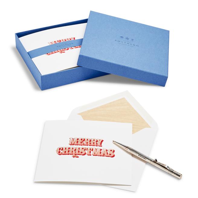 Merry Christmas Christmas Card Set