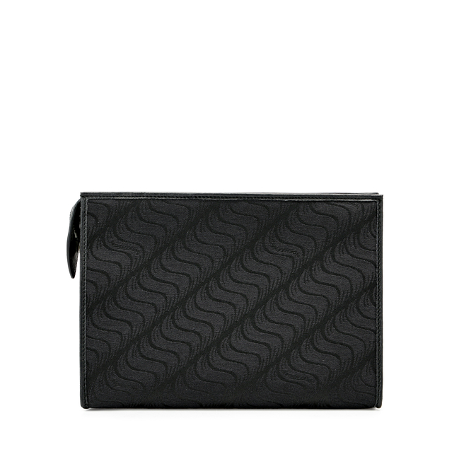 'S' Monogram Large Zip Washbag