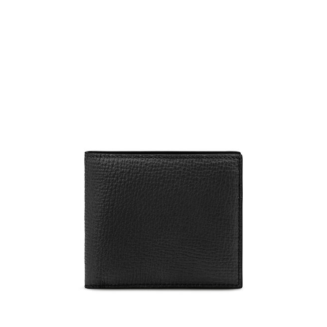 Wallet with Coin Pocket in Large Grain Leather