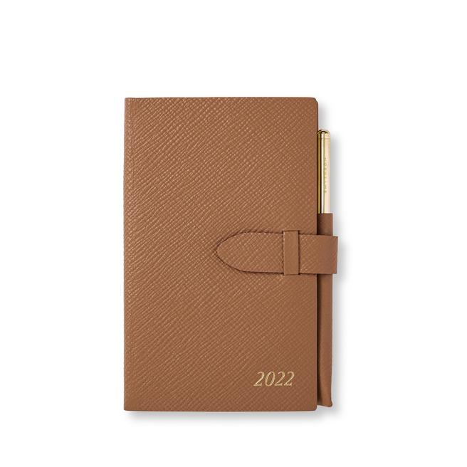 2022 Panama Diary with Gilt Pencil