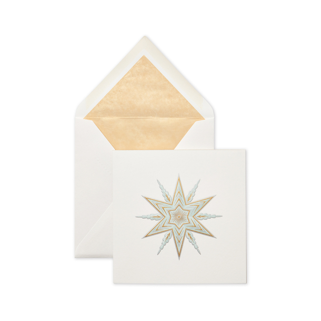 Shooting Star Christmas Card