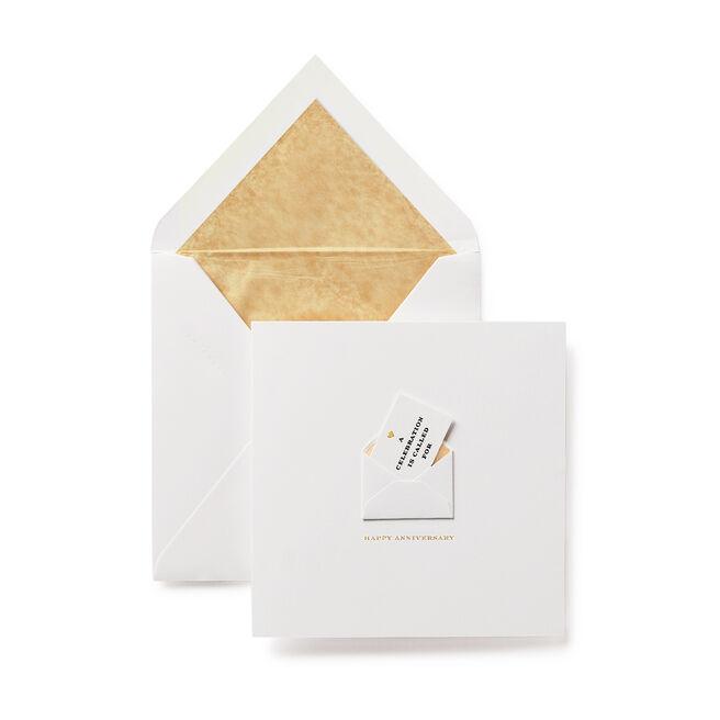 Anniversary Envelope Card